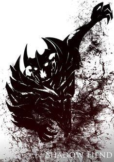 Shadow Fiend by chroneco