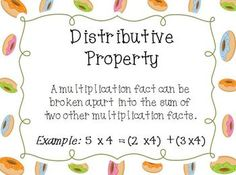 math worksheet : distributive property of multiplication multiplication anchor  : Distributive Property Of Multiplication Worksheets 3rd Grade