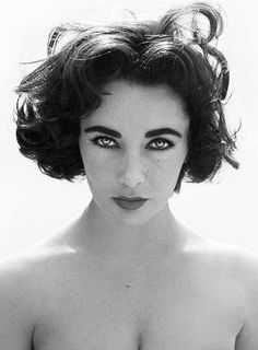 Elizabeth Taylor - classic, timeless beauty. She reminds me of my mom. She's a beauty too.