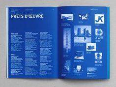 Design Graphique • Julie Rousset #type #blue #columns #typography