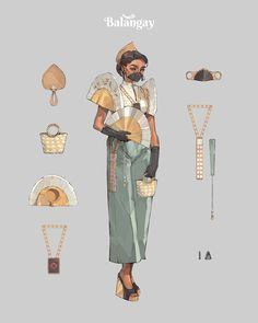 Philippine Mythology, Philippine Art, Filipino Art, Filipino Culture, Filipiniana Dress, Filipino Fashion, Character Design Inspiration, Pretty Art, Character Illustration