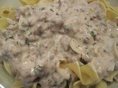 Life as a Lofthouse (Food Blog): Easy Beef Stroganoff