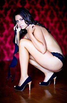 sexy boudoir pose