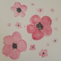 Day 43 of the 100 Day Project #water #color #colour #flowers