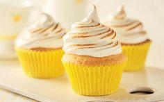 Lemon meringue cupcakes #Recipe #LetsBake #Win https://www.aldi.co.uk/en/recipes/recipes-by-category/sweet-treats/lemon-meringue-cupcakes/