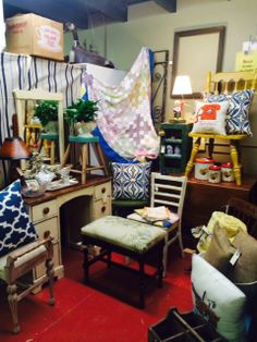 Up cycled Chic!  February 2014  Arbor Antiques Second & South Margin , Franklin TN.