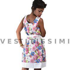 Vestitino donna fantastia floreale Vestitini donna con fantasia a fiori, perfetto per il periodo estivo. Clicca qui -> http://www.ebay.it/itm/Vestito-vestitino-donna-miniabito-fiori-vestitini-sexy-mini-abito-floreale-Vs28-/262512592829?var=&hash=item82b2e9e876