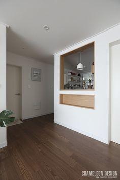 [시공사례] 철산 두산위브 / 24평 / 구정 브러쉬골드 애쉬브라운 / 따뜻한 우드 포인트 인테리어 / interior by 카멜레온 디자인 : 네이버 블로그 Interior Inspiration, Contemporary Design, My House, Garage Doors, Bedroom, House Styles, Outdoor Decor, Kitchen, Home Decor