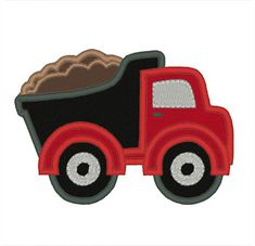 Designs :: Boys :: Dump Truck Applique