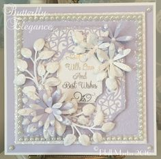 Phills' Crafty Place: Butterfly Elegance - With Love & Best Wishes
