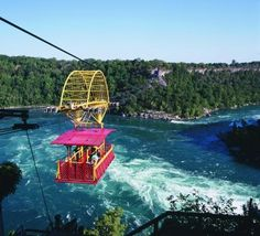 Niagara Falls - I was too chicken to ride the Whirlpool Aero Car, but it was amazing to watch