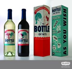 The Bottle of Wits wine - This actually exists! Want immediately. [the princess bride]