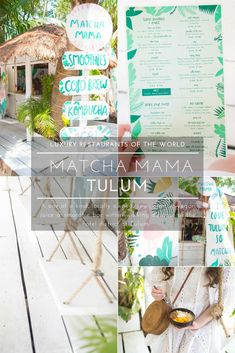 Matcha Mama Tulum Vegan Smoothies, Açai Bowls, Raw Juices & More - Annie Wears It Travel Articles, Travel Photos, Travel Advice, Hotel Secrets, Smoothie Bar, Luxury Restaurant, Vegan Smoothies, Beautiful Hotels, Best Places To Eat