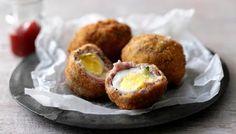 Scotch eggs - or maybe mini savory eggs?