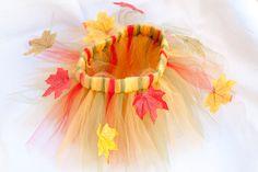 Thanksgiving fall tutu skirt $25.00, via Etsy. I want one for ME!
