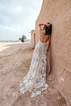bohemian bridal fashion Sell My Wedding Dress, Elegant Wedding Dress, Elegant Dresses, Wedding Gowns, Wedding Bride, Wedding Stuff, Lace Wedding, Wedding Ideas, Plus Size Prom Dresses