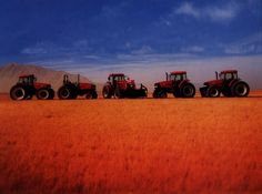 Case tractor lineup