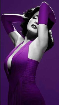 Edit by ME - Ina synman [touch of purple dress]