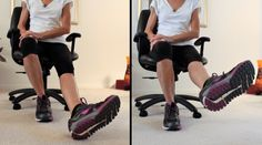 8 Exercises To Relieve Pain In Achy Knees - Fitness With Cindy Knee Arthritis Exercises, Knee Strengthening Exercises, Yoga Poses For Beginners, Workout For Beginners, Senior Fitness, Zumba Fitness, Fitness Tips, Health Fitness, How To Strengthen Knees