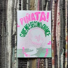 """We were invited by Pinata Fanzine to submit an illustration to their second edition """"Give me a second chance"""". Great riso print and very good work by all participants. Thanks a lot Pinata!!  https://www.facebook.com/pages/Pi%C3%B1ata-Fanzine/1509075016012719"""
