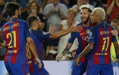 Barcelona opened their 2016-17 Champions League campaign in superb fashion with a 7-0 romp over Celtic on Tuesday night at the Camp Nou.
