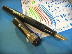 Waterman 52 X Fine Point Flex 14K Ideal Gold Nib Fountain Pen vintage 1920s BCHR #Waterman