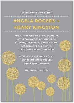 Wedding paper divas * Wedding invitations