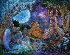 Josephine Wall | Mystical Meeting