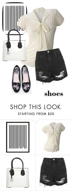 """shoes"" by masayuki4499 ❤ liked on Polyvore featuring Eleanor Stuart, Matiere, MICHAEL Michael Kors, Topshop and WithChic"