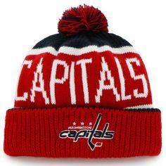 6d01940df1c Men s Washington Capitals  47 Navy Calgary Cuffed Knit Hat Hockey Hats