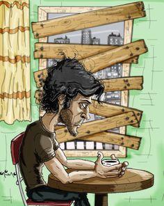 Uyumsuz Famous Cartoons, Character Drawing, Comic Books, 1, Comics, Wallpaper, Drawings, Illustration, Artist