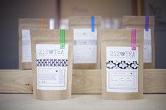 212 Tea Packaging Design. Designed by: Julie Rose, USA. http://www.packageinspiration.com/212-tea.html/