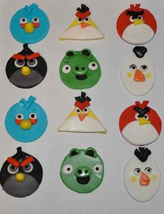 I may need to do a dozen Angry Birds cookies for Cameron as a reward for being an awesome ring bearer :)