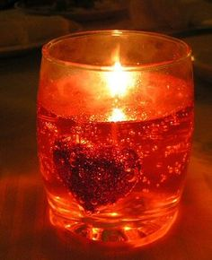Homemade Gel Candle