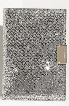 Jimmy Choo 'Reno' Fabric Passport Holder