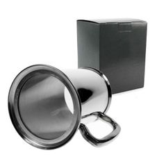 Awesome 21st Birthday Guys: Tuff-Luv Polished Finish Pewter Tankard Glass Bottom