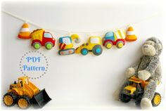 PDF instructions for felt construction by PollyChromeCrafts