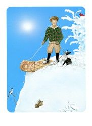 Snowland Tarot. Can't wait for the deck to come out!