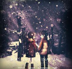 boku dake ga inai machi movie by dwikiazhar  simple edit Render by :Le-Ryuuji