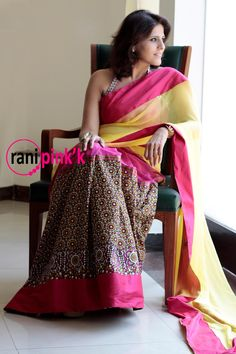 Rani Pink'k – Creative and Contemporary Saree Collection