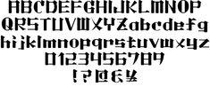 日本人では思いつかない感性!?「日本語風」の無料英字フォント10+1 | Webクリエイターボックス