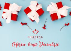 December Offer- Oferta Lunii Decembrie Be the star of these # holidays, be … - Diy Lipstick, Lipstick Kiss, Natural Lipstick, Lipstick Swatches, December, Gift Wrapping, Cosmetics, Stars, Eyeliner