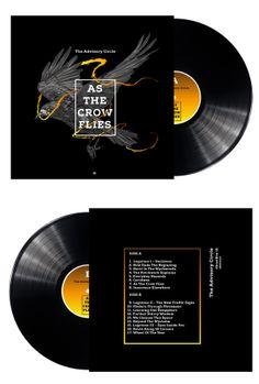 As the crow flies by Tomasz Majewski, via Behance