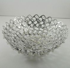 Creative recycling with can tabs! Here are 20 ideas…