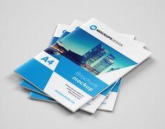 """Vedi questo progetto @Behance: """"Free A4 brochure mockup"""" https://www.behance.net/gallery/62530459/Free-A4-brochure-mockup"""