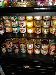 Bath and body works candles from 2016.