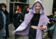 Irene Kim in a Sies Marjan coat