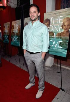 """Actor Nick Kroll arrives at the premiere of RADIUS-TWC's """"The One I Love"""" at the Vista Theatre on Aug. 7, 2014 in Los Angeles. Check out other Celebs Spotted at Vista Theatre! http://celebhotspots.com/hotspot/?hotspotid=5497&next=1"""