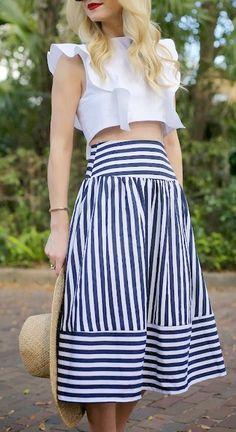 Ruffles + Stripes