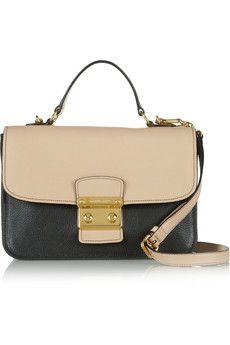 b71e522768d3 Miu Miu - Madras textured-leather shoulder bag